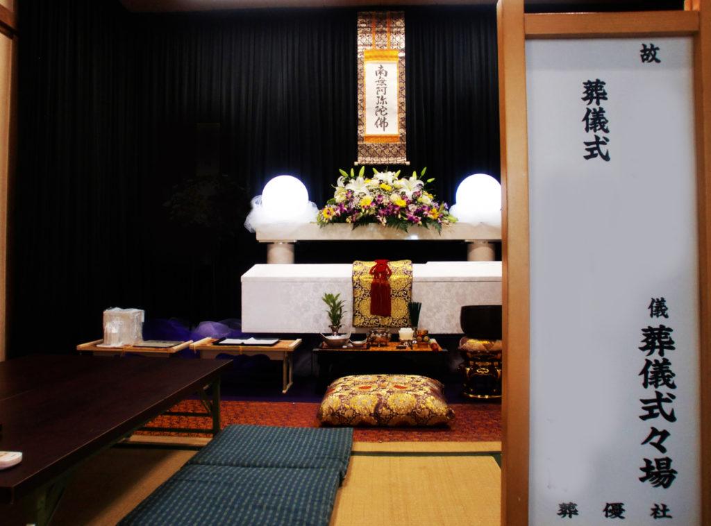 天王寺区の生活保護者様のお葬式をお手伝い致しました。