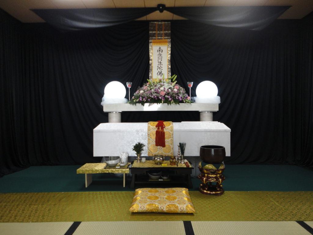 東淀川区で生活保護受給世帯の方のお葬式を北斎場で施行しました。