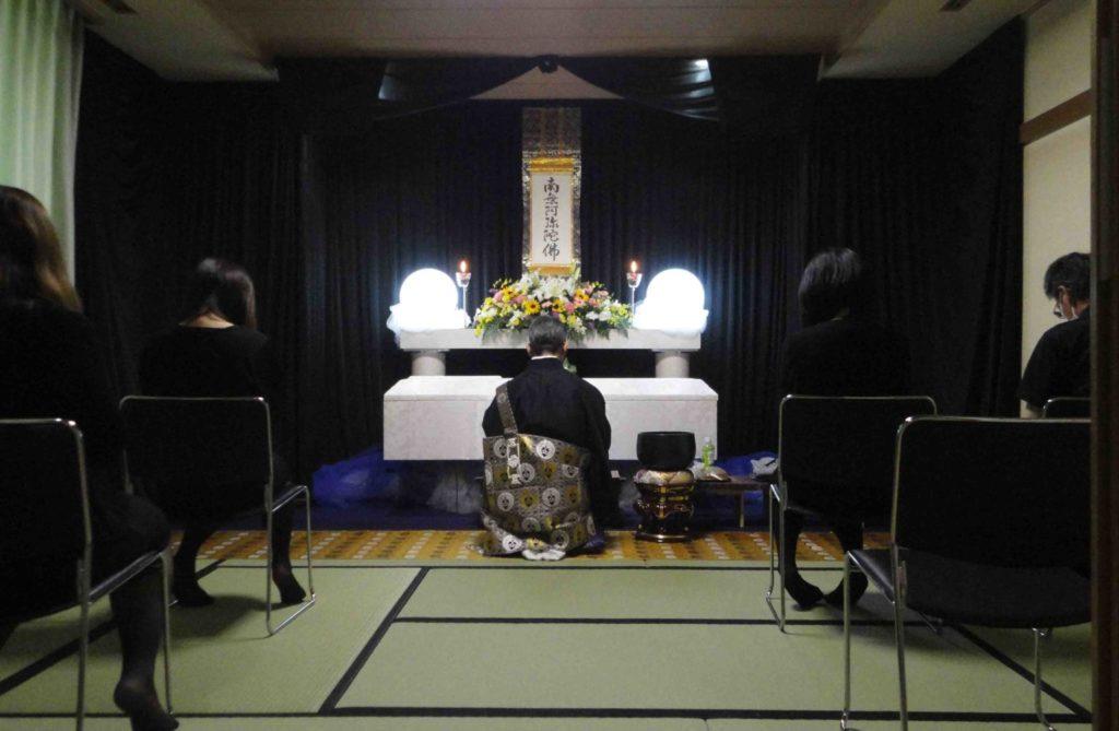 北斎場での福祉葬儀をお手伝いしました。
